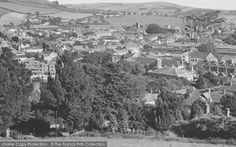 Bridport, From Allington Hill c.1960, from Francis Frith