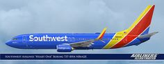 Southwest Airlines Heart One Boeing 737-8H4 N8642E