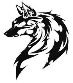 tribal chinese dog tattoo | List of All Dogs Tattoos Design Page 24 - WakTattoos.com | Free Online ...