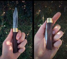DIY Folding Knife Canivete feito a partir de lima velha