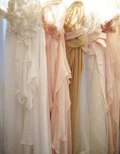 Feminine and girly - Ana Rosa Luxury Wedding Dress, Luxury Dress, Dream Wedding, Wedding Beauty, Blush Bridal, Bridal Gowns, Wedding Gowns, Bridal Shoes, Wedding Hair