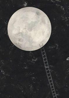 mãe, deixas-me ir à lua?