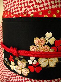 kimono's obi For Her Majesty Gleann Abhann