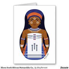 Xhosa South African Matryoshka Art Print Kids Wall by AmyPerrotti African Wall Art, South African Art, Xhosa, Personalized Note Cards, Illustration Sketches, Art Wall Kids, Wall Art Prints, Russian Babushka, Etsy