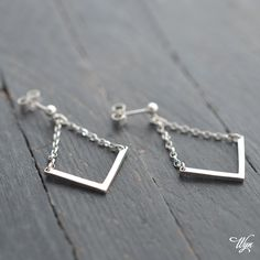 cf483f3f8 Handmade silver arrow earrings Arrow Earrings, Arrow Necklace, Handmade  Silver, Handmade Jewelry,