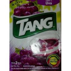 Tang Uva (Grape) Drink Mix, Packets Make 2 Liters (Pack of 24)