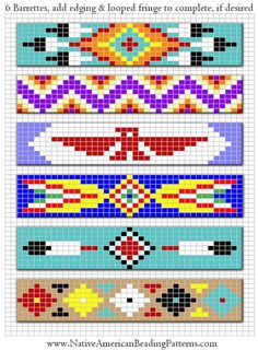 Free Beadwork Patterns And Designs | Print Photos | View Full-Size Image