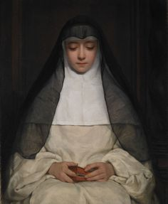 A Nun, Henriette Browne 1859