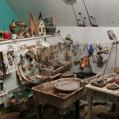 This is my happy place. My in home studio, where it all happens. Most of my time is spent here designing and creating.