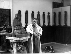 Ernst Barlach (1870-1938) Michelangelo, Germany, Sculpture Garden, Carving, Painting, Artists, Friends, Studios, Atelier