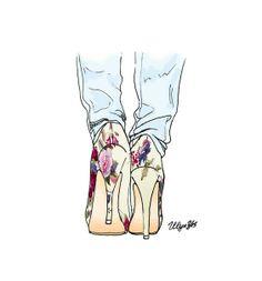 Ulya Yes Fashion Illustrations