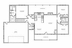 Floor plan for Kayla's home