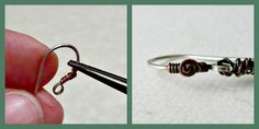 Saturday Share:  Ear wires...with a twist!