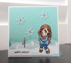 JoBoogie Crafts  Warm Wishes/ Winter by JoBoogieCrafts on Etsy