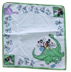 vintage #disney handkerchief #etsy