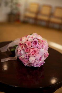 新郎新婦様からのメール 無敵の言葉 コルトーナ横浜様へ : 一会 ウエディングの花