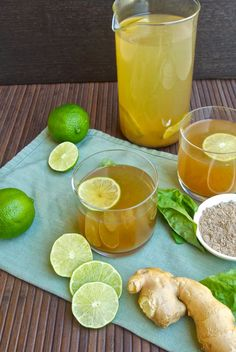 Basil ginger tea | HEALTHY tea | TEA TIME | pinned by http://www.cupkes.com/
