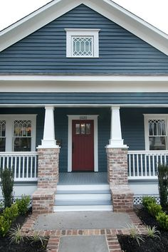 Sherwin Williams SW 6251 Outerspace exterior