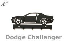 Wall key hanger, Dodge Challenger