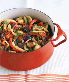 Ratatouille   The incredibly versatile eggplant works in everything from Italian to Asian recipes. Bonus: Eggplant makes a tasty substitute for meat, too.