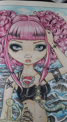 Poppy Magic Line Art By Jasmine Becket Griffith Colored