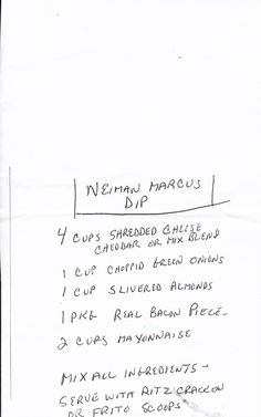 Neiman Marcus Dip