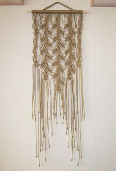 Hey, I found this really awesome Etsy listing at https://www.etsy.com/es/listing/183482996/macrame-wall-hanging-three-sprigs