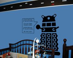 Dalek in a nursery??