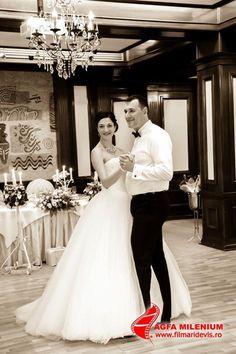 Gorgeous princess style wedding gown #wedding