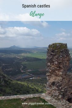 Alange's main tourist attraction might be its thermal baths, but there's another good reason to visit it – the views from its castle. Thermal Baths, Spain Travel, Merida, Travel Advice, Small Towns, The Locals, Attraction, Roman, Spanish