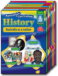 Australian Curriculum History is a seven-book series linked to the requirements of the Australian National Curriculum for each stage of primary school from Foundation to Year 6.