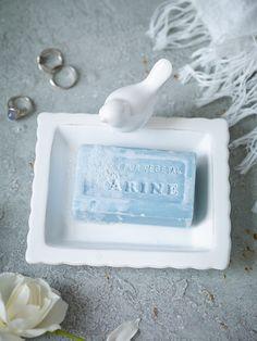 Pretty Bird Soap Dish - Bathroom Accessories - Bed & Bath - Indoor Living