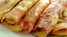 Mexican Pancakes - Rask - Oppskrifter - MatPrat Crepes And Waffles, Pancakes, Mexican Food Recipes, Sausage, Brunch, Griddle Cakes, Mille Crepe, Cooking, Breakfast