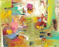 Elizabeth Chapman: Faith, Contemporary Abstract Painting by Elizabeth Chapman