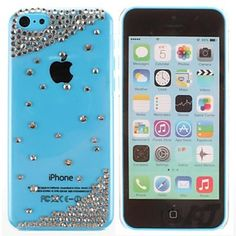 Simple Bead Metal Jewelry Back Case for iPhone 5C  – USD $ 4.99