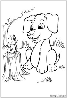 Puppy and Kitten Coloring Pages . Puppy and Kitten Coloring Pages . Christmas Puppy Coloring Pages Puppy and Kitten Drawing at Puppy Coloring Pages, Cartoon Coloring Pages, Disney Coloring Pages, Coloring Pages To Print, Coloring Book Pages, Printable Coloring Pages, Coloring Pages For Kids, Coloring Worksheets, Adult Coloring