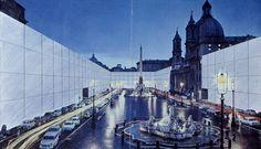 Il Monumento Continuo-Superstudio-Piazza Navona-1970