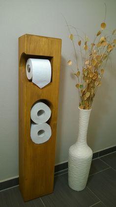 die besten 25 toilettenpapierhalter stehend ideen auf pinterest toilettenpapierhalter diy. Black Bedroom Furniture Sets. Home Design Ideas