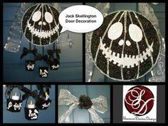 Jack Skellington Door Decoration By:Shannon Davina Design-