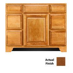 Photography Gallery Sites Hardware Door Detail Square Recessed Panel Veneer TY Hickory in Honey Spice KraftMaid Cabinetry St Ferdinand Kitchen Pinterest Doors