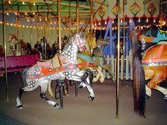 Dentzel Carousel Horse - Rearing Dapple Grey by Princes Milady, via Flickr