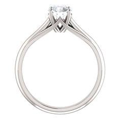 1.70 CT Ovale Cut Citrine 3 Stone Diamond Bague de fiançailles 14K or Blanc Finition