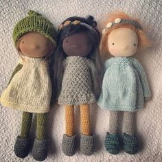These three are complete ☀️ they will be in the shop today. I am working on their listings and they should be in the shop in the next few hours. I'll list them in order from left to right (blonde girl first, redhead last). Thanks for all your enthusiasm for these three. It means so much to me.