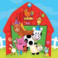 Fiestas infantiles de animales de la granja - Imagui