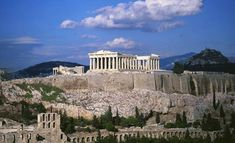 Parthenon in Athens, Greece. I need to see all the iconic ancient Greek ruins before they crumble to dust!!