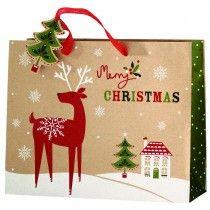 cancer research UK kraft medium landscape bag Christmas Gift Bags, Christmas Shopping, Christmas Ornaments, Bags 2014, Cancer Research Uk, Foil Stamping, Christmas Design, My Design, Presents
