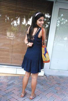 love this cute dress! #AHintofLife #ootd