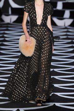 Diane von Furstenberg|Silk-blend chiffon wrap gown