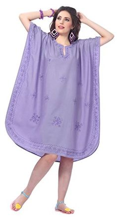 Womens Embroidered Swimwear Beach Dress D Violet Swimwear Plain US 14  28W Spring Summer 2017 >>> Check out the image by visiting the link. Note: It's an affiliate link to Amazon.