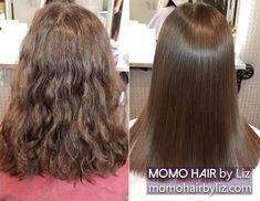 Her hair looks so soft, doesn't it? Japanese Hair Straightening, Best Hair Salon, Japanese Hairstyle, Perms, Hair Looks, Her Hair, Kinky, Hair Color, Curly